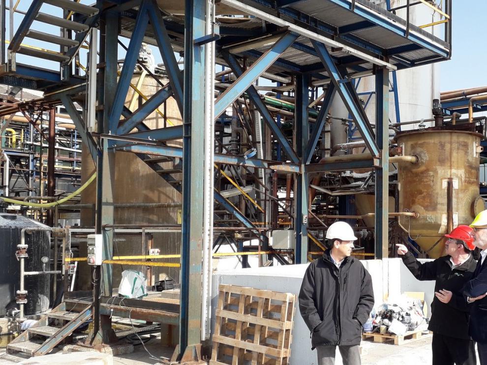 La Química del Cinca muestra las mejoras en las instalaciones tras una inversión de 22 millones de euros