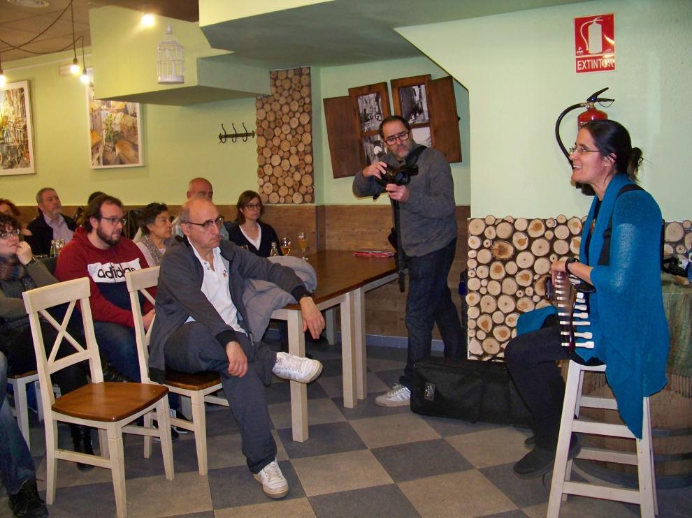 Susana Tornero abre el festival Fraga T Cuenta en restaurantes