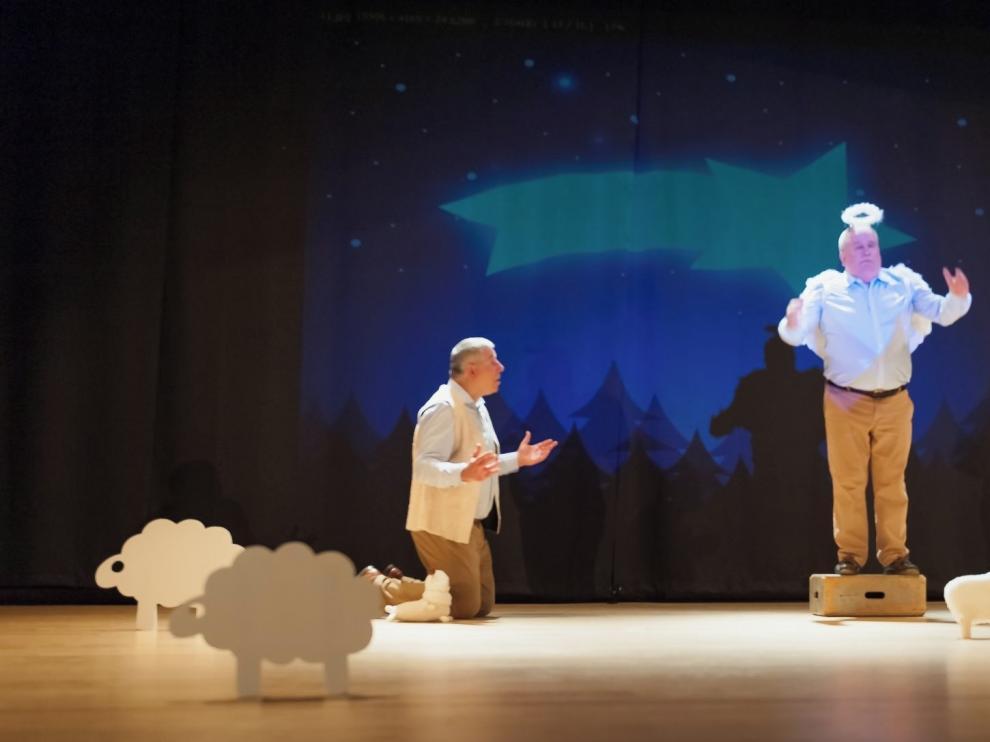 Allegro Teatro sube al escenario la Historia Sagrada con respeto y humor