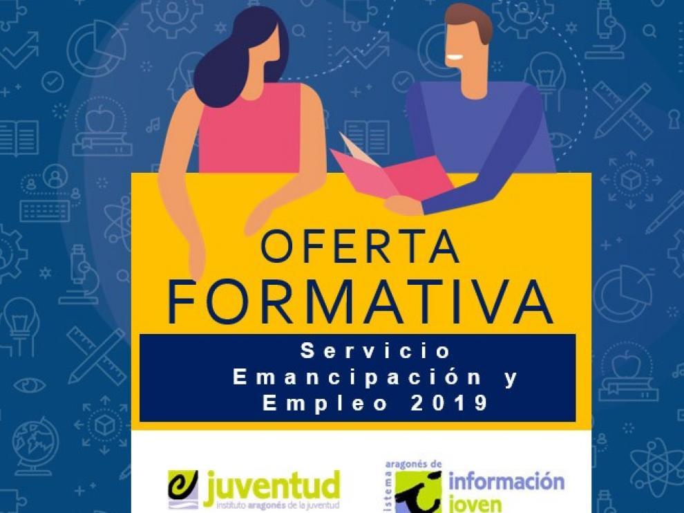 El Instituto Aragonés de la Juventud lanza su nueva oferta formativa para 2019