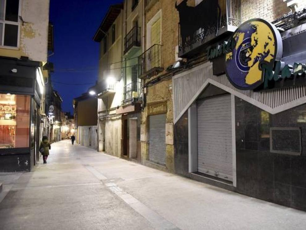 Detenidos en Huesca los cuatro autores de un robo con violencia en la zona del Tubo