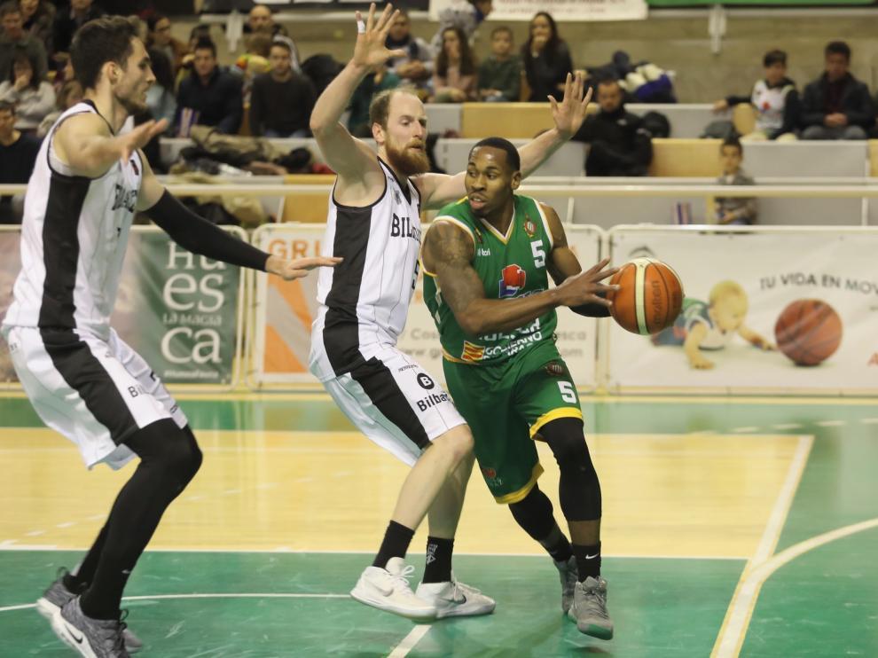 Levitec Huesca quiere recuperar este domingo el compás en el Palacio de Deportes