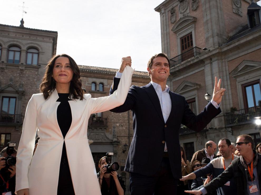 Rivera y Arrimadas unen sus fuerzas para llegar a Moncloa