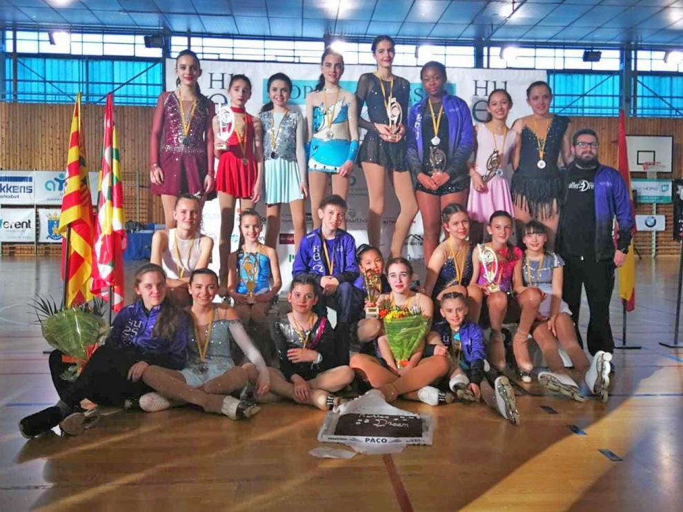 Un II Open de Huesca con medallas e Ingrid en el corazón