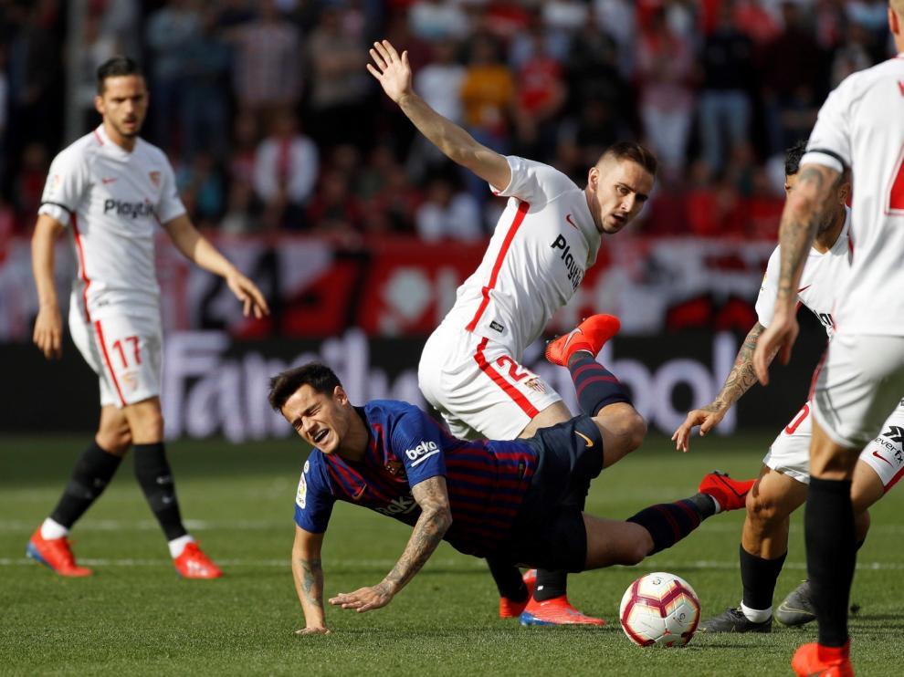 El Sevilla ya se centra en el Huesca