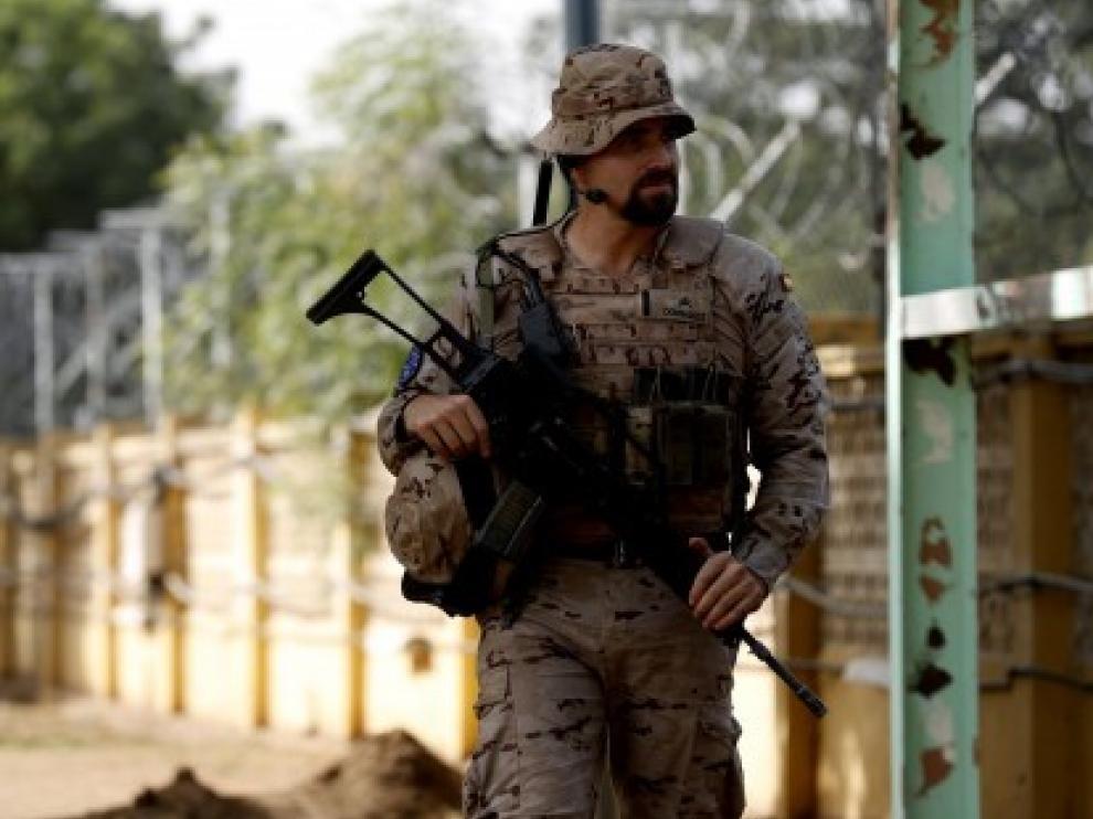 Atacado, sin heridos españoles, el centro militar de Koulikoro