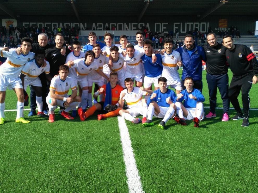 Aragón Sub-16 se mete en la fase final nacional
