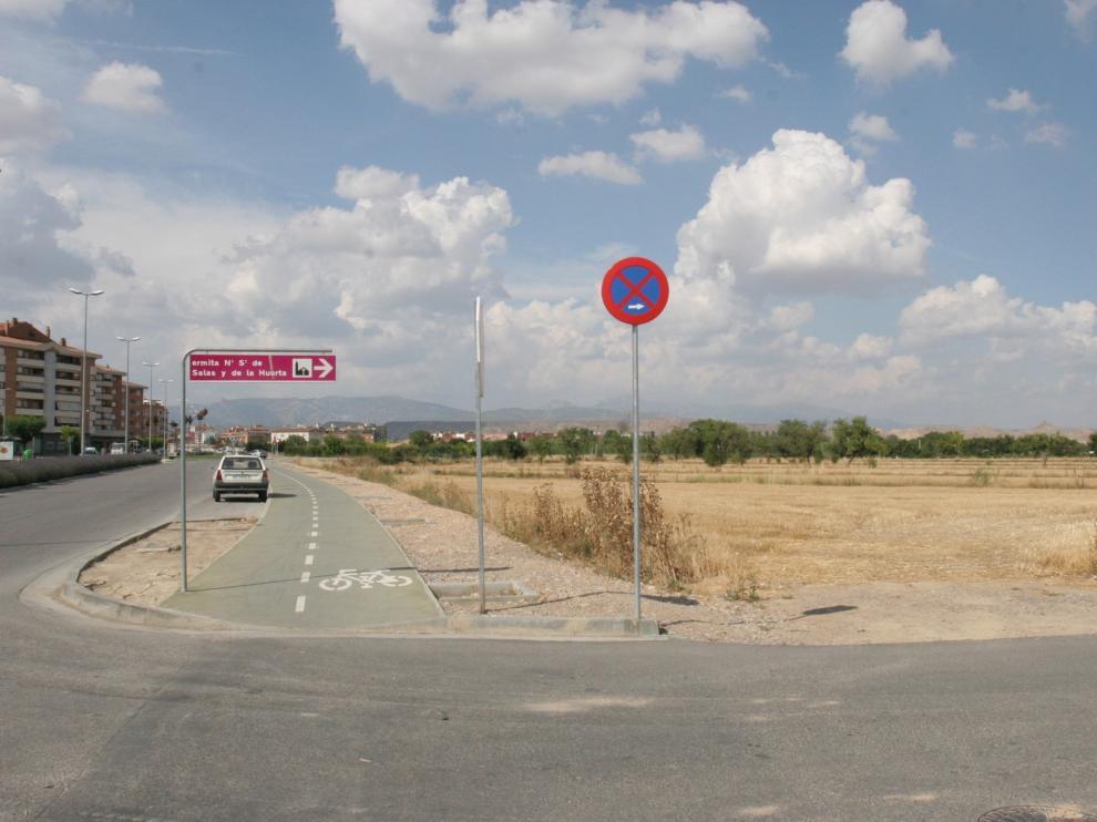 Los terrenos del Área 7 de Huesca pasan a ser urbanos tras la negociación entre Ayuntamiento y propietario