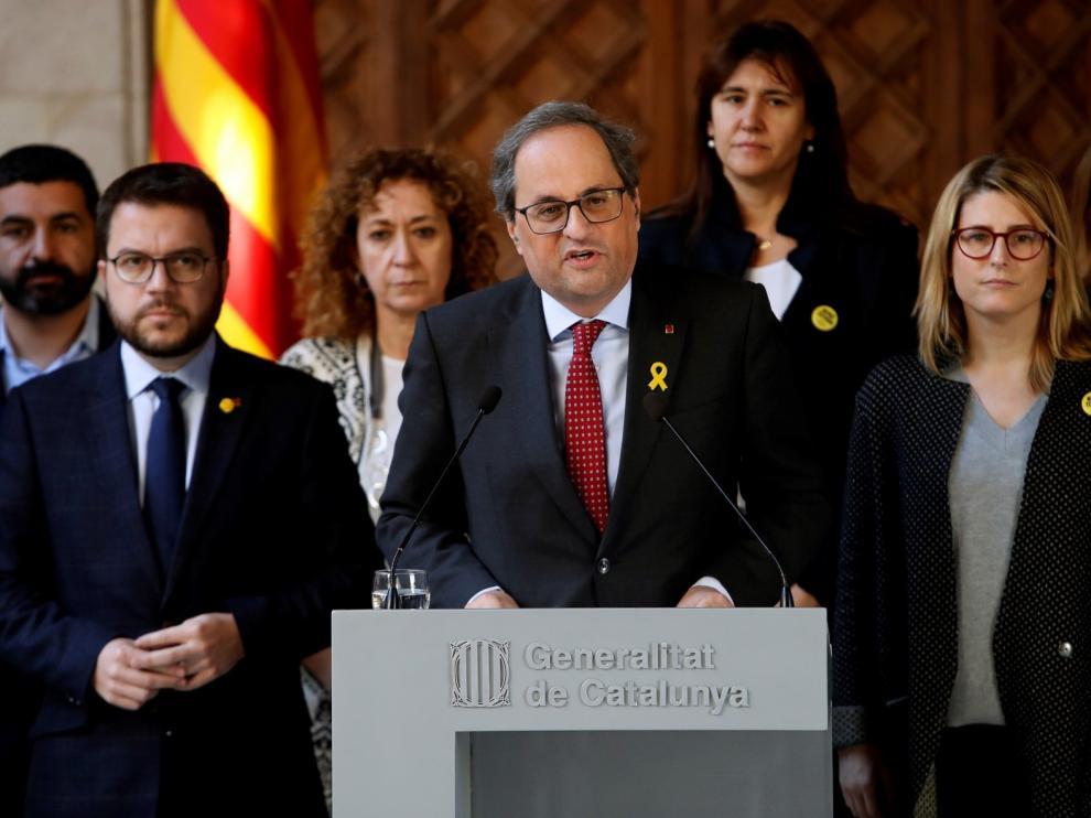 """Vinculan al presidente catalán con el """"procés"""""""