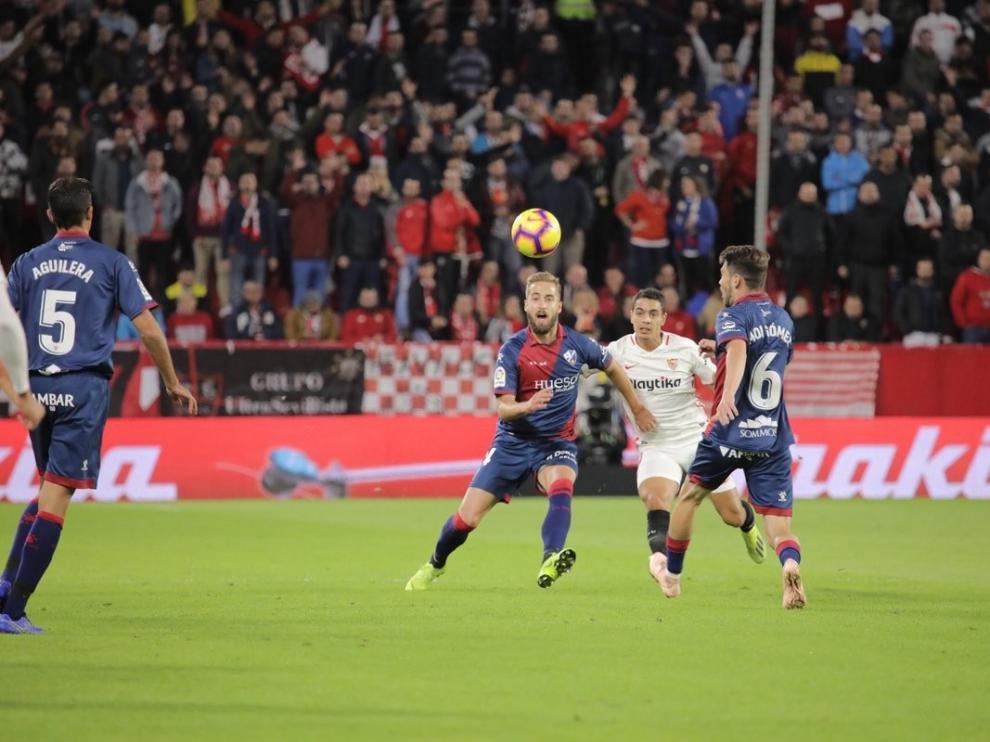 El Huesca sigue teniendo como tarea pendiente sumar ante los equipos de arriba