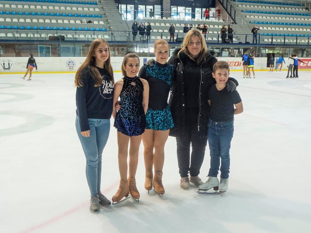Buen debut en competición para tres patinadoras del CH Jaca