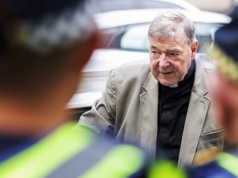 El tesorero del Vaticano, culpable de abusar de dos menores en Australia