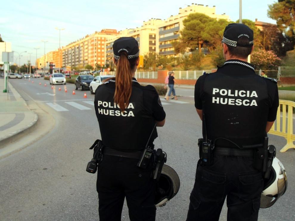 """La Policía Local de Huesca se encuentra """"de nuevo bajo mínimos"""""""