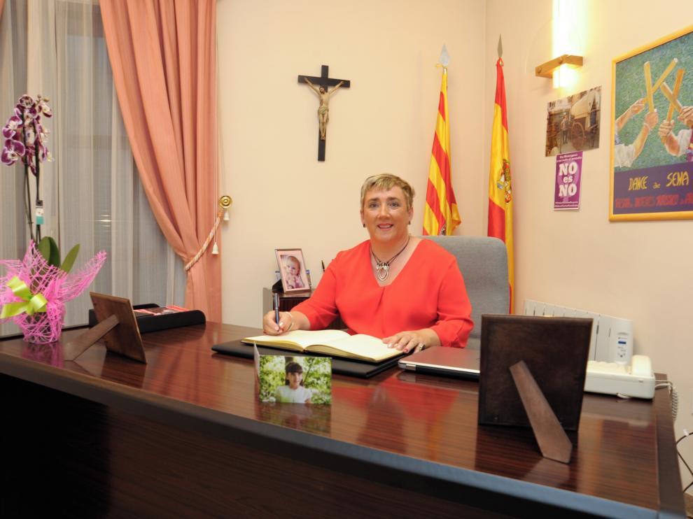 Rocío Sanz deja la política municipal tras 12 años de alcaldesa de Sena