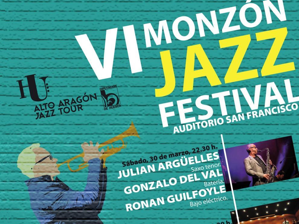 Los saxos de Julián Argüelles y Don Menza sonarán en Monzón