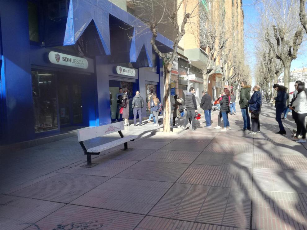Agotadas las entradas para el Huesca-Sevilla