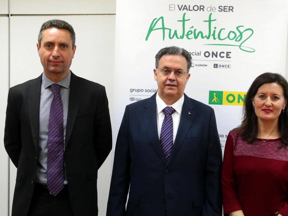 La Once afronta el reto de la dispersión geográfica de sus afiliados de Huesca