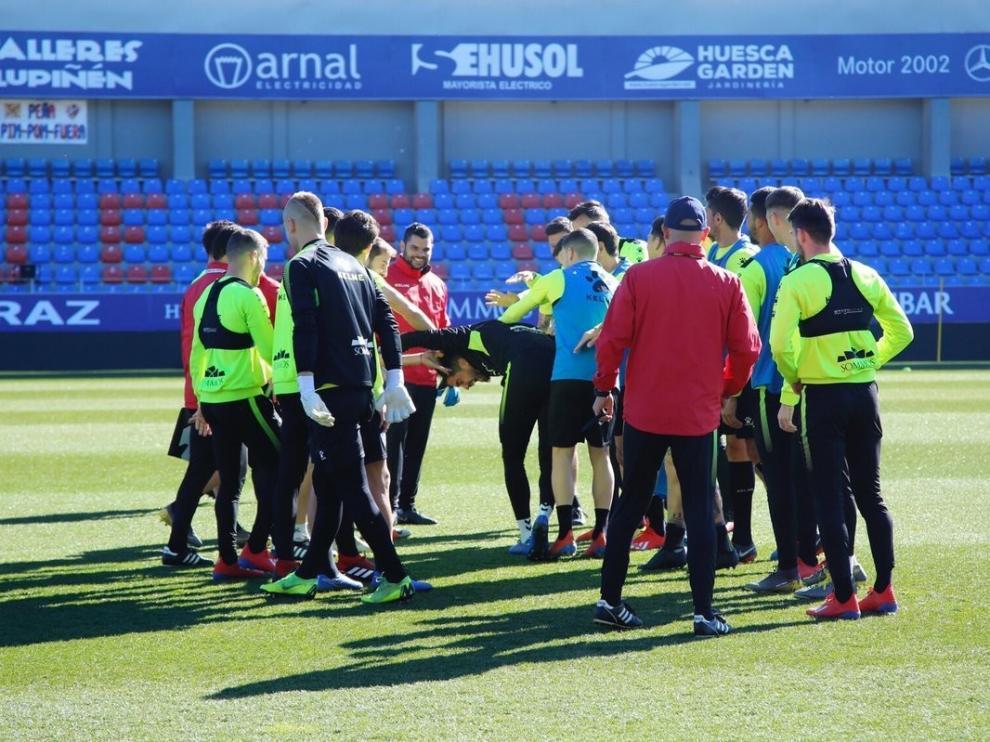 El Huesca ha sumado el doble de puntos que el Sevilla en los ocho partidos de 2019