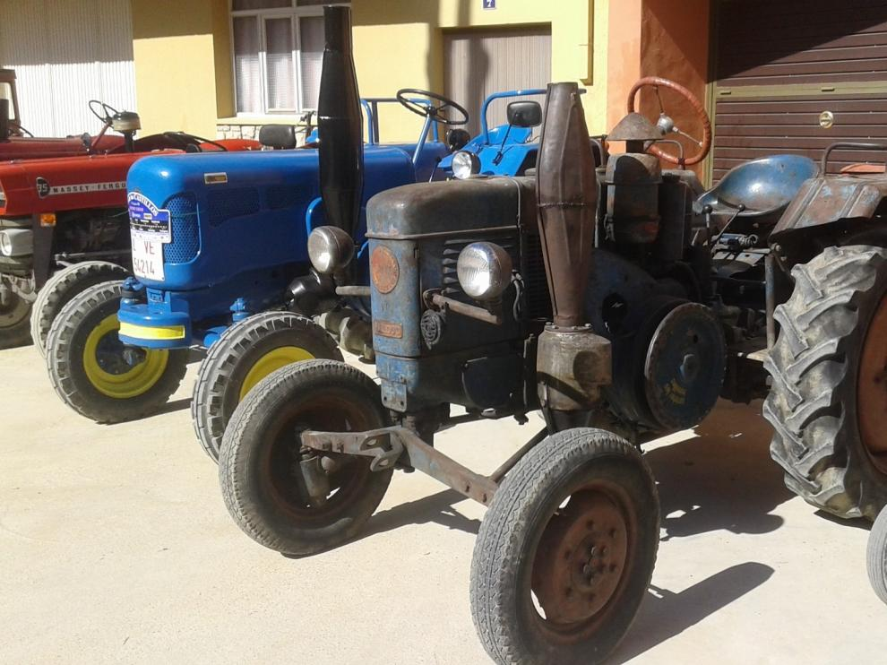 Tractores de toda España confluyen en Barbastro