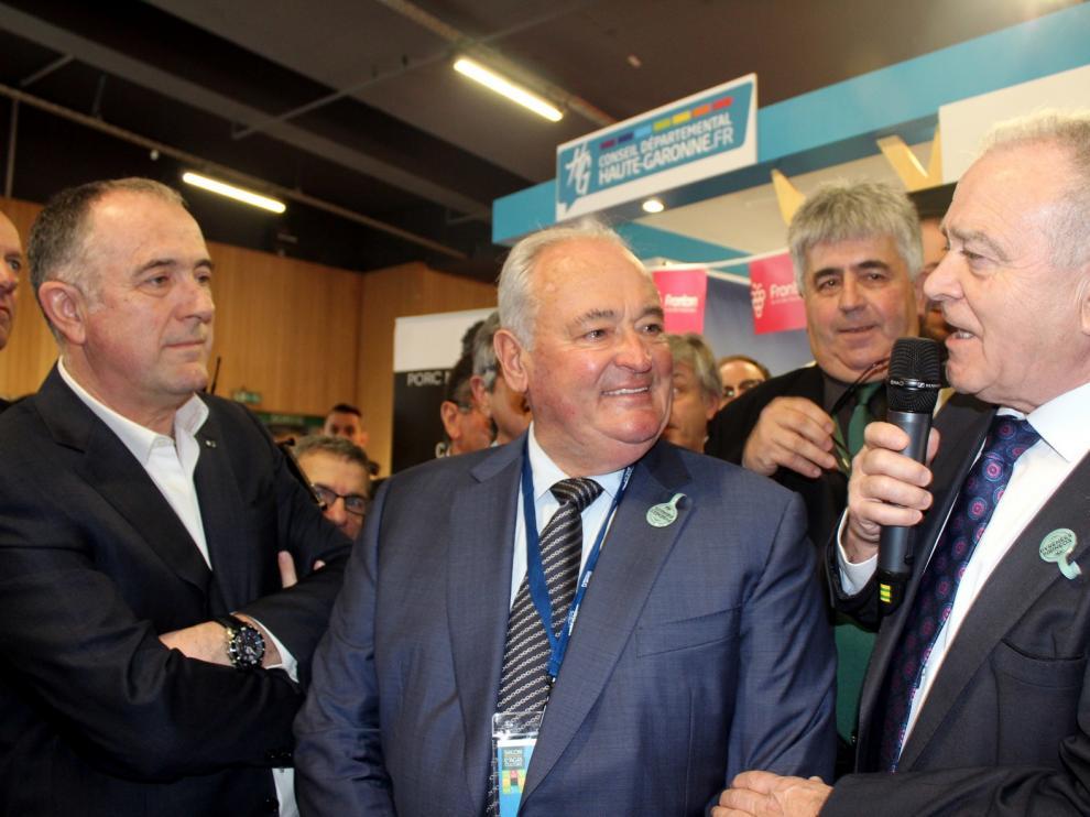 Gracia pide desde París a la UE incentivos para la economía de los pueblos