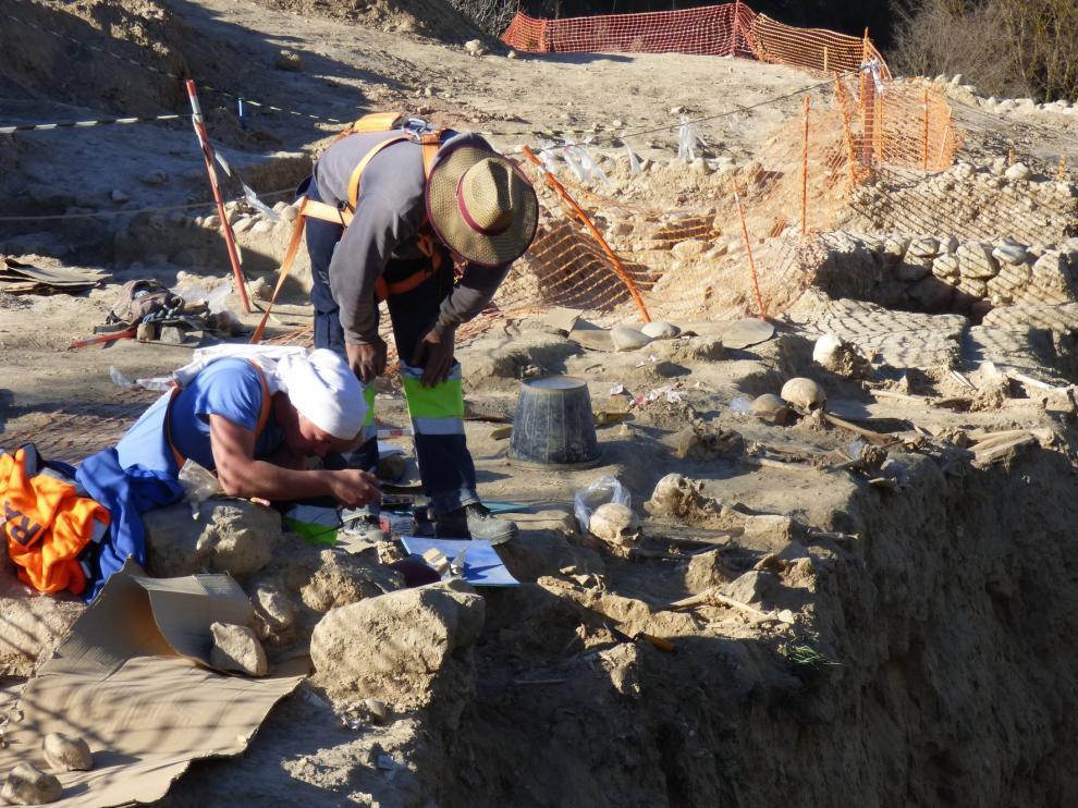 Patrimonio autoriza que prosigan las excavaciones de Barbastro