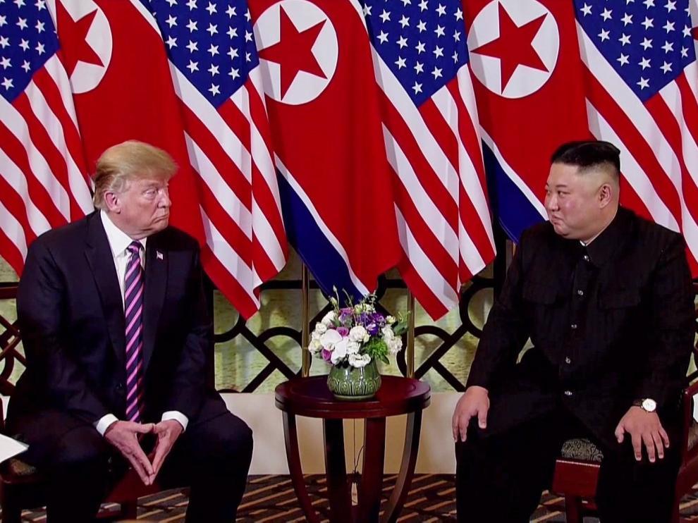 Trump elogia el potencial económico norcoreano