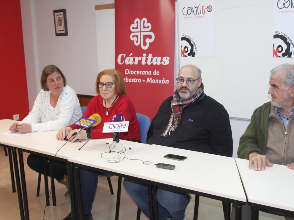 Incluyem Barmon, nueva empresa de Cáritas Barbastro-Monzón para ayudar a la inserción