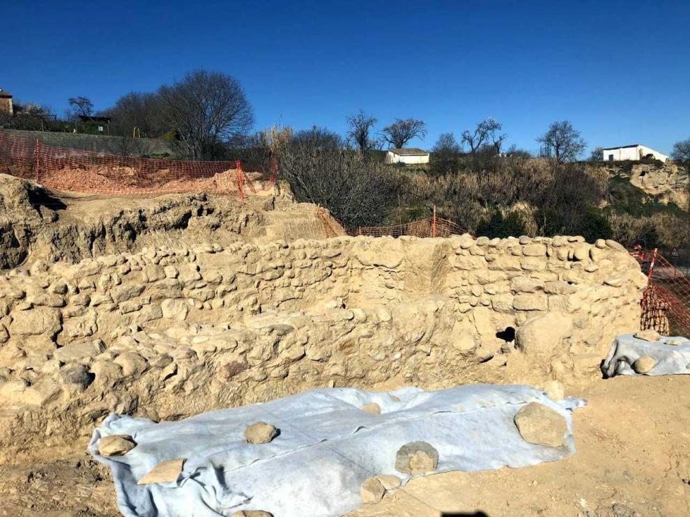 El PAR plantea la creación de un jardín arqueológico sobre el yacimiento medieval y romano encontrado en Barbastro
