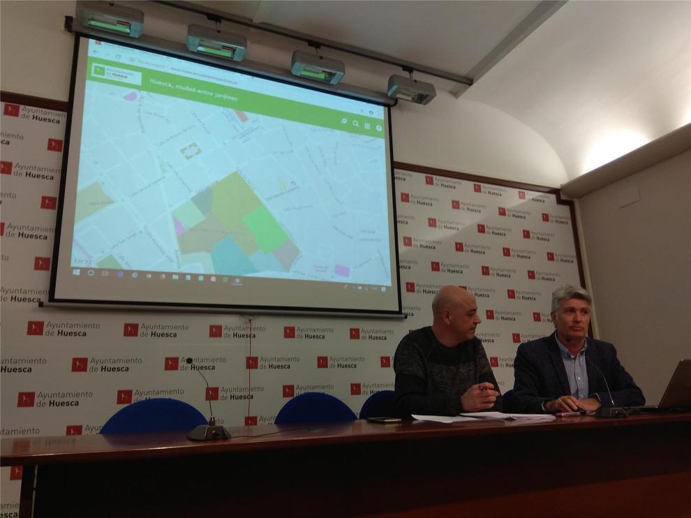 Medio Ambiente presenta una 'enciclopedia' virtual sobre los 18.000 árboles de Huesca