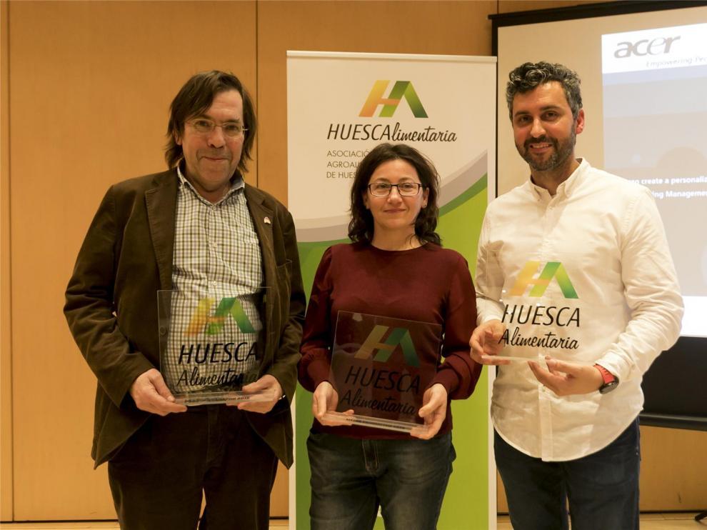Cabecita Loca, Mimes Gourmet y Urtasun, premios Huesca Alimentaria 2019