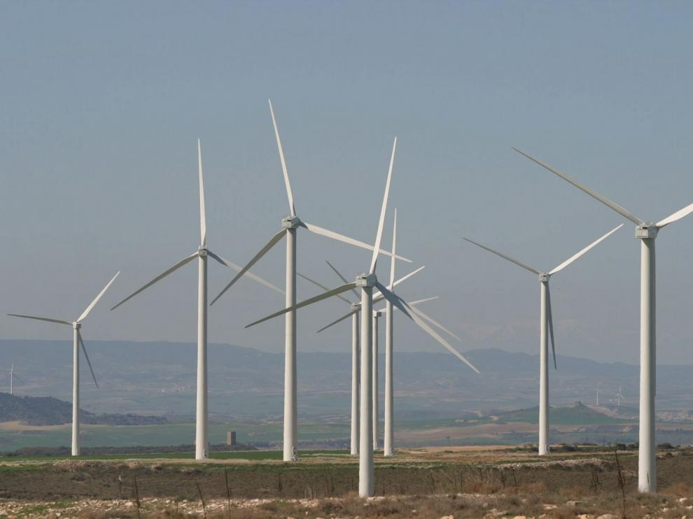 Impulso a las energías renovables con diez parques eólicos en la provincia de Huesca