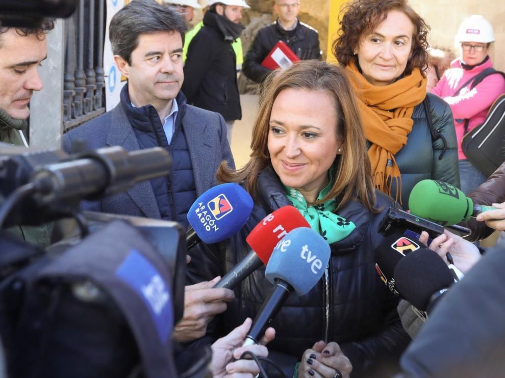 """Aragón tacha de """"falacias"""" las palabras de Borrás sobre los bienes de Sijena"""