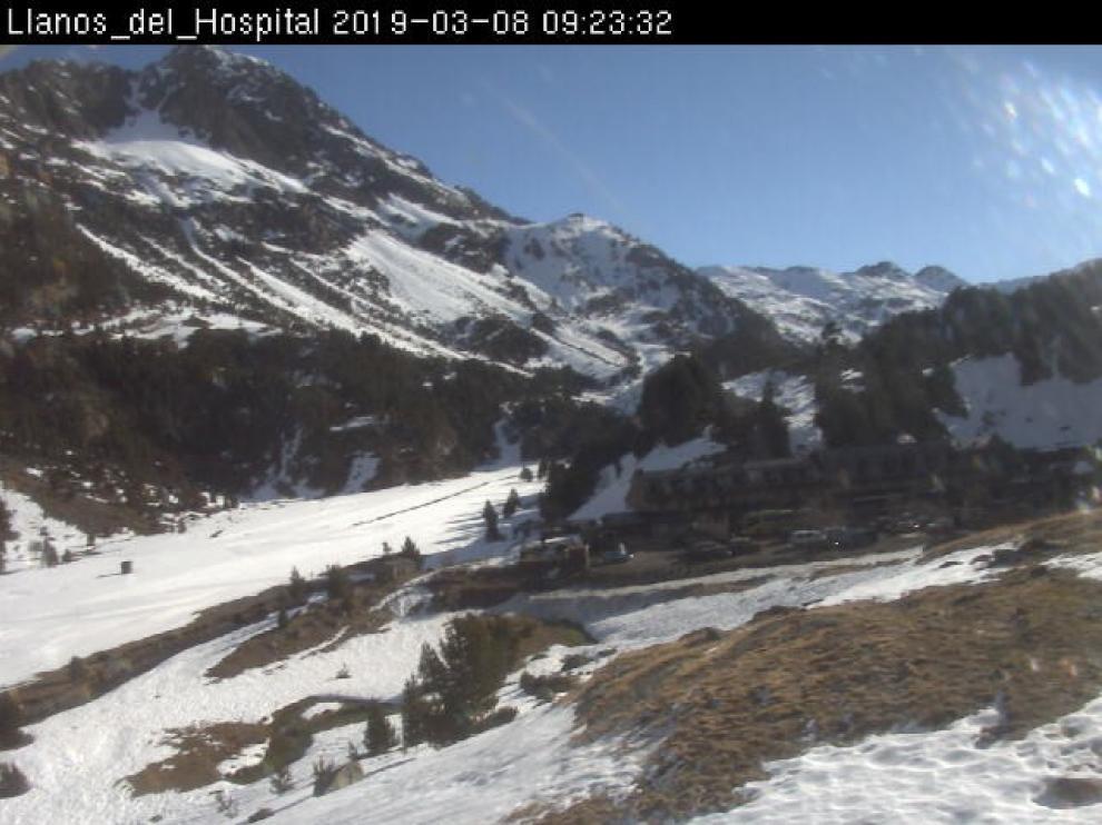 El último frente deja 10 centímetros de nieve en las estaciones de esquí