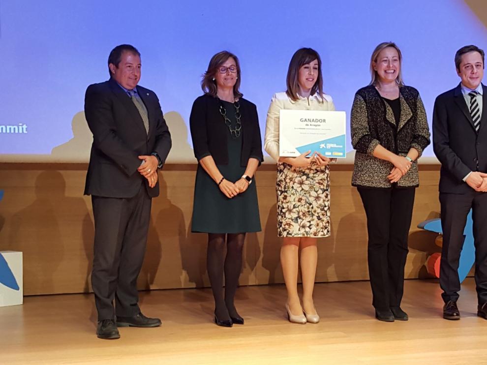 Titan Fire System, empresa ganadora del Premio Emprendedor XXI de Aragón