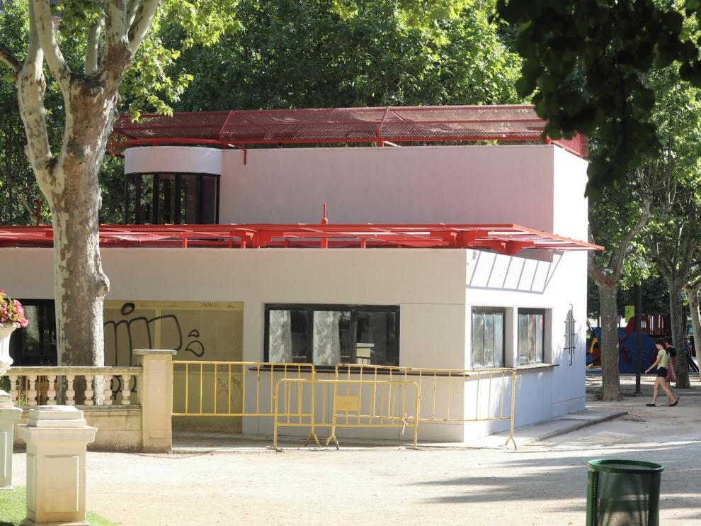 """El PP califica de """"chapuza electoralista"""" la reapertura del parque bar de Huesca"""