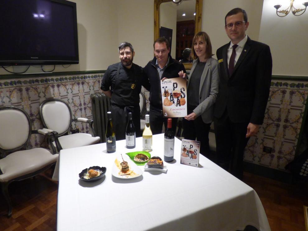El hotel San Ramón del Somontano celebra 10 años con unas jornadas de tapas