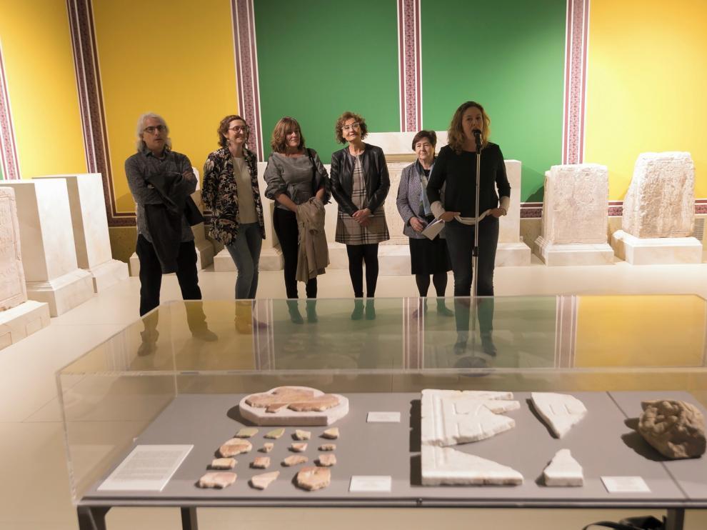 Huesca muestra el potencial de Labitolosa en el mundo antiguo
