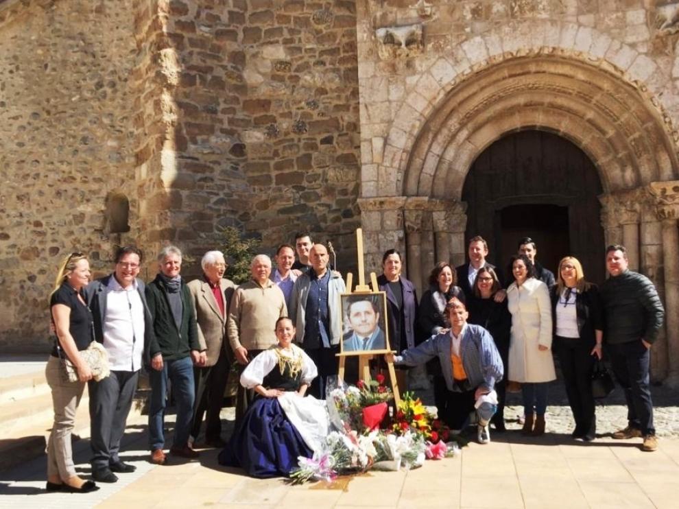 El mundo de la jota rinde un sentido homenaje a José Til en un acto en Tolva