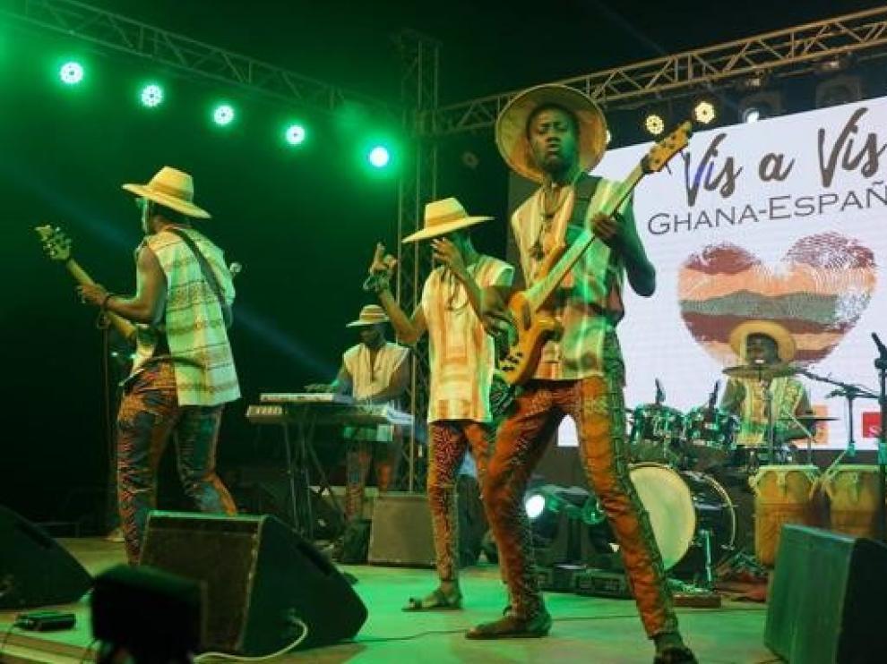 """Dos bandas ghanesas tocarán en España tras ganar el certamen """"Vis a Vis"""""""