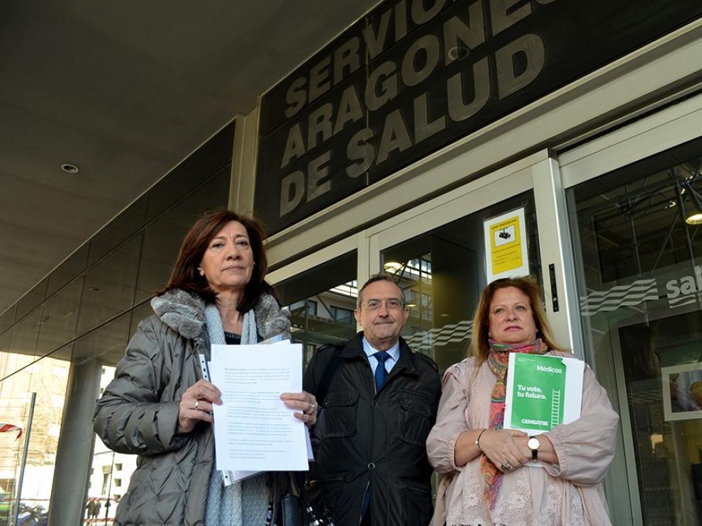 Cemsatse convoca una huelga general en la sanidad aragonesa el día 11 de abril