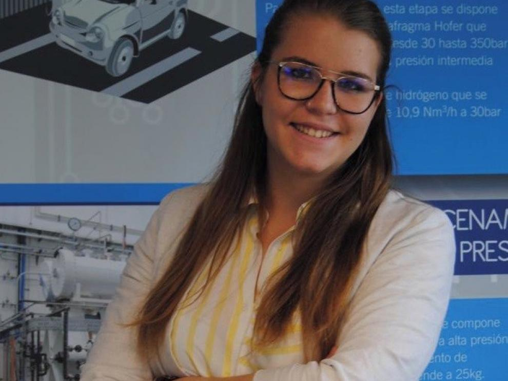 """Lucía Biarge: """"La dual te permite poner en práctica lo que estudias"""""""