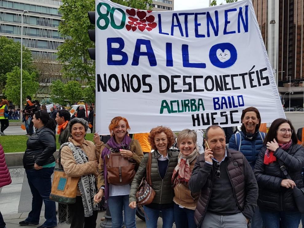 La España vaciada toma Madrid en una acción sin precedentes