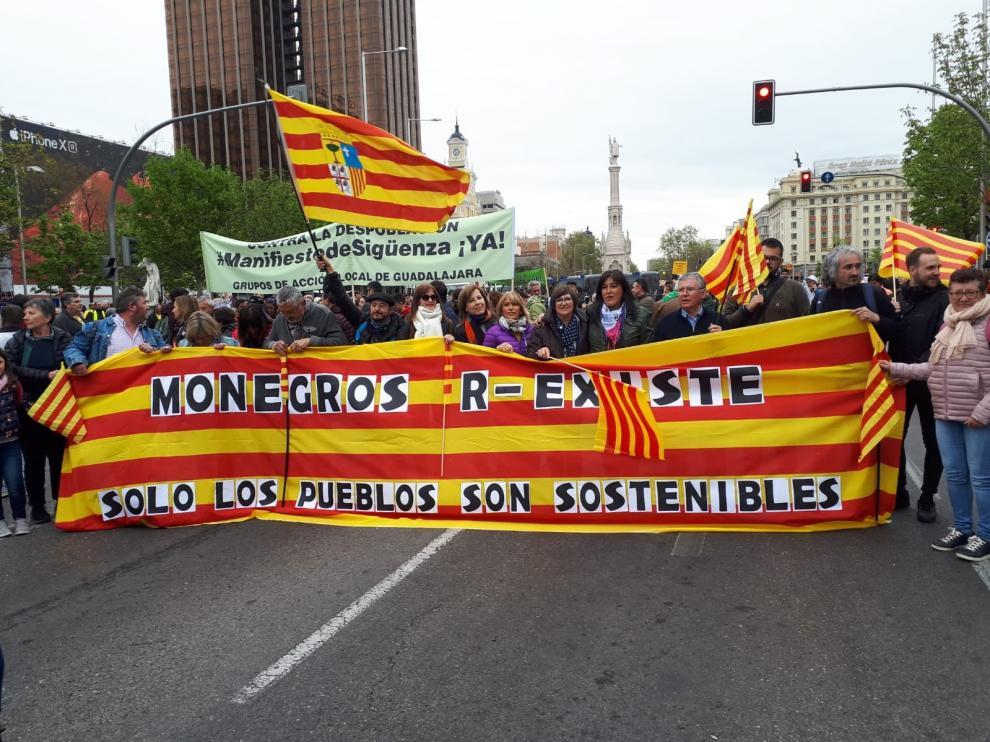 Revuelta de la España Vaciada este domingo en Madrid