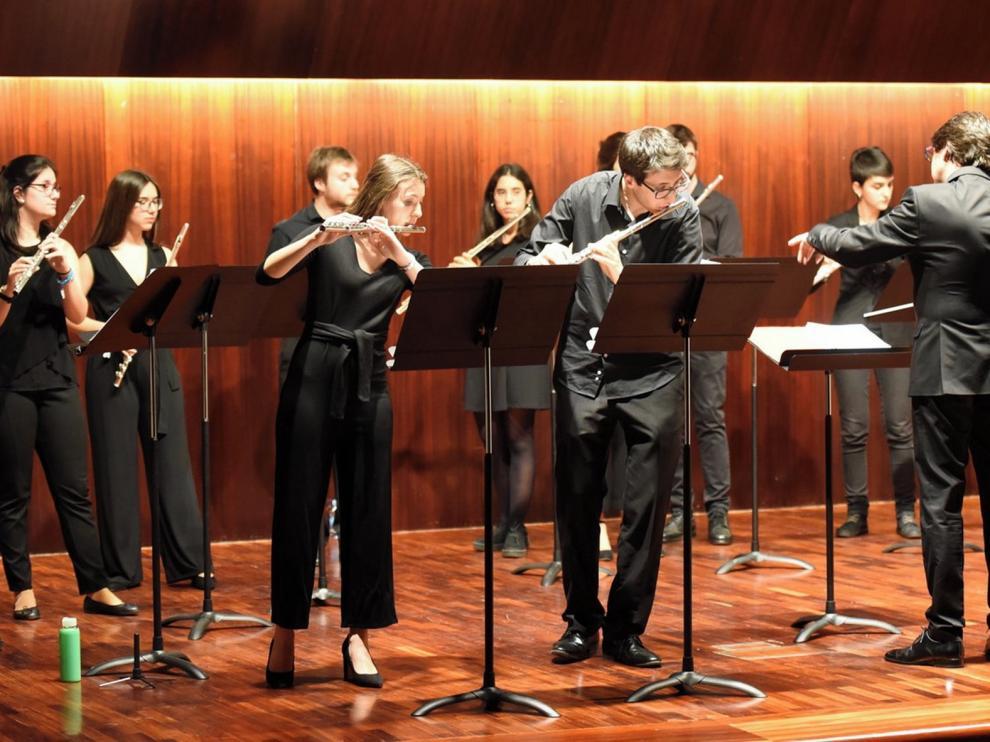 El Conservatorio de Huesca celebra las VI Jornadas de flauta travesera de Aragón