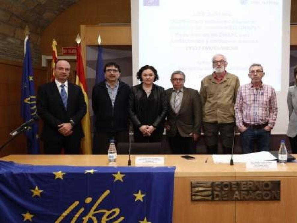 El Gobierno de Aragón presenta un nuevo proyecto para eliminar los residuos de lindano