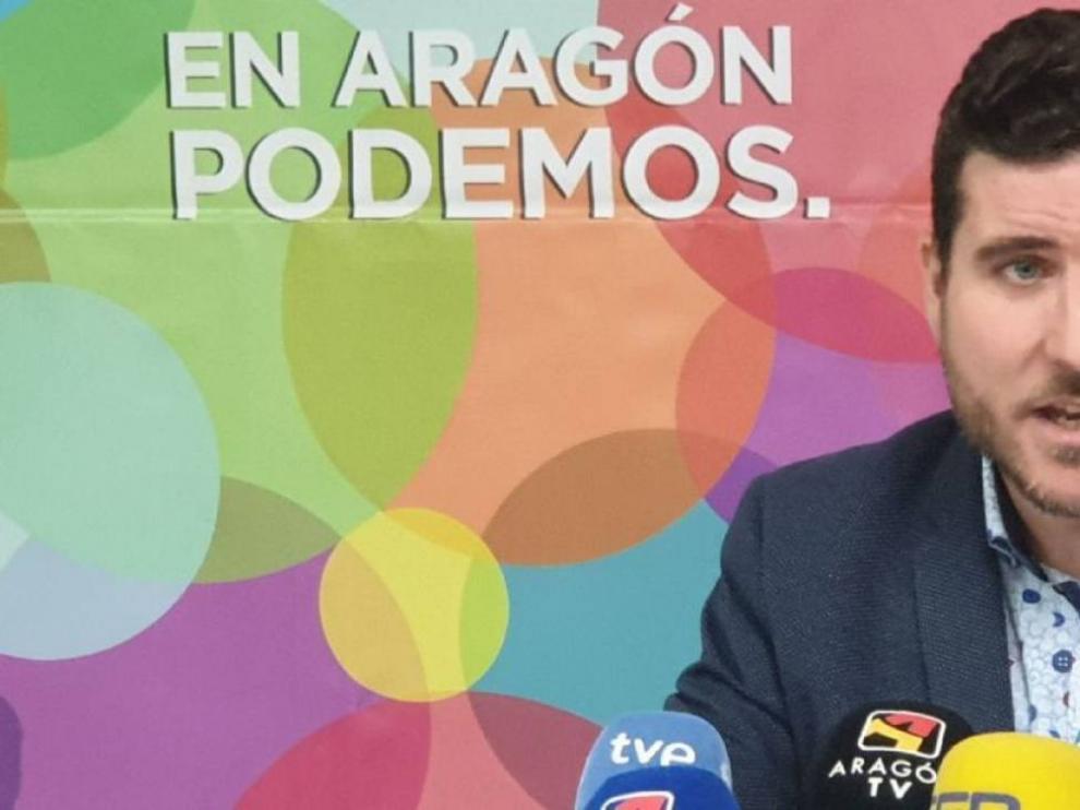 Podemos Huesca pide la dimisión de Escartín y de la cúpula autonómica por no contar con los círculos