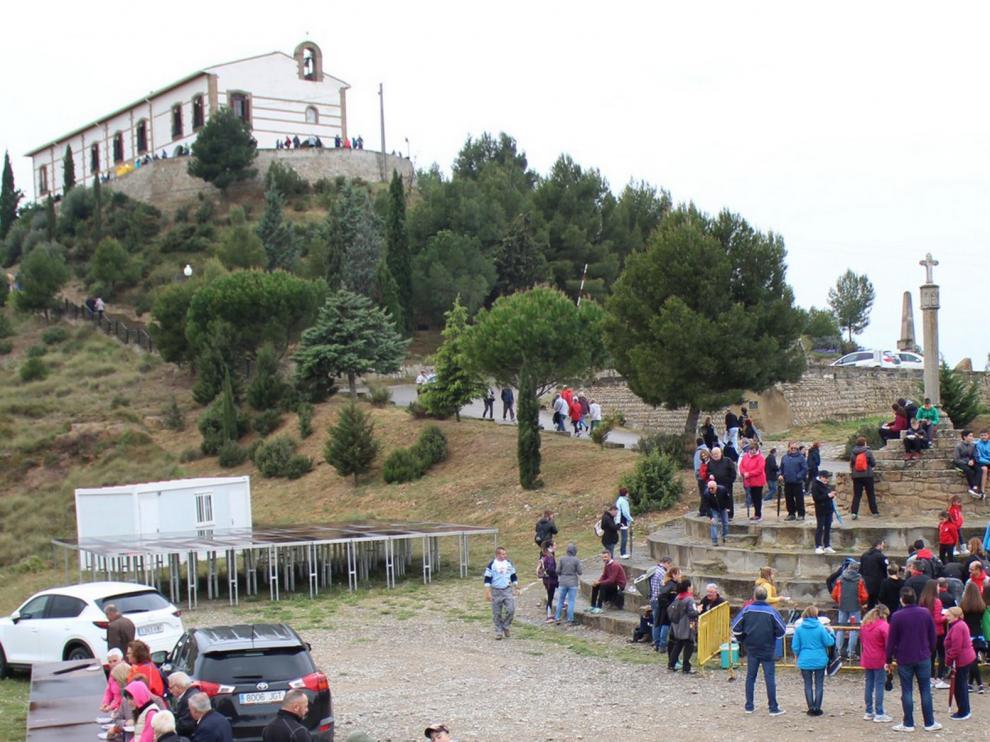 Lunes de Pascua sin romerías en El Pueyo, La Alegría y San Quílez