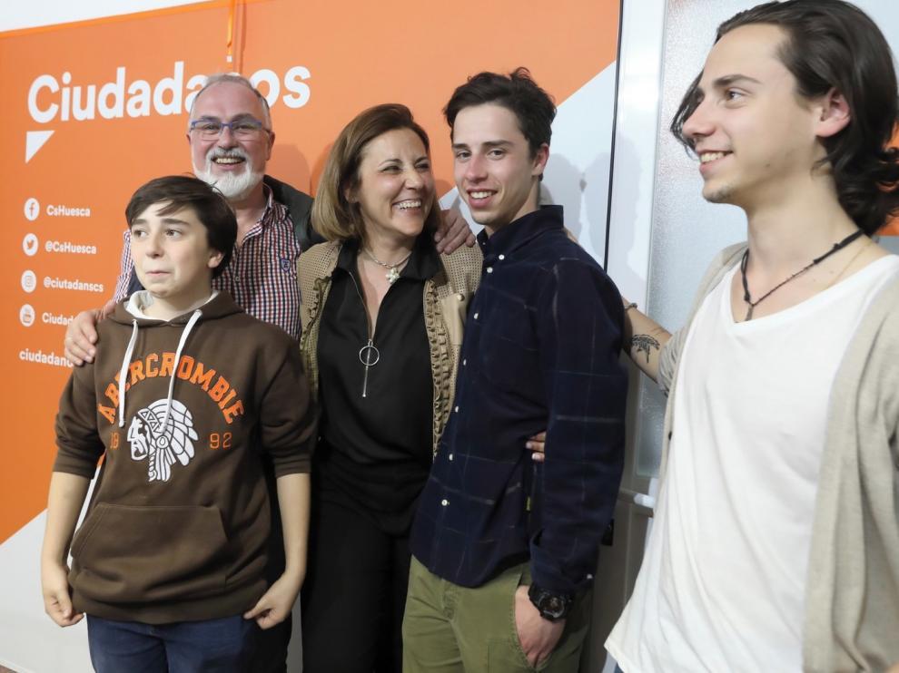 """Lourdes Guillén se compromete a ser """"la voz de Huesca"""""""