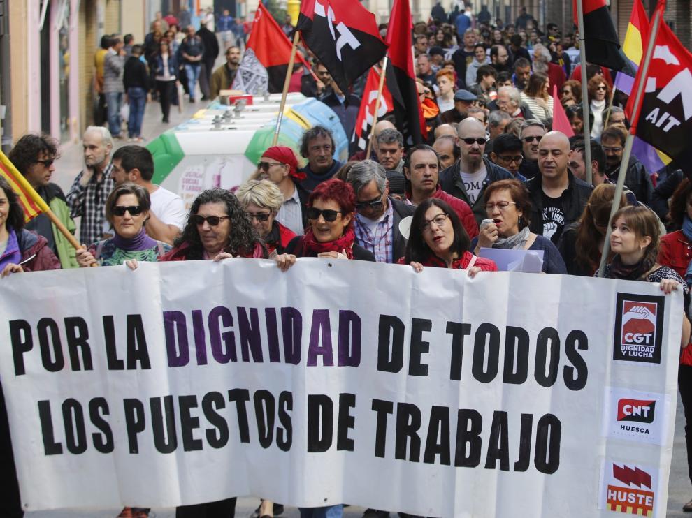 Habrá manifestaciones virtuales de UGT y CC. OO. por el 1º de Mayo