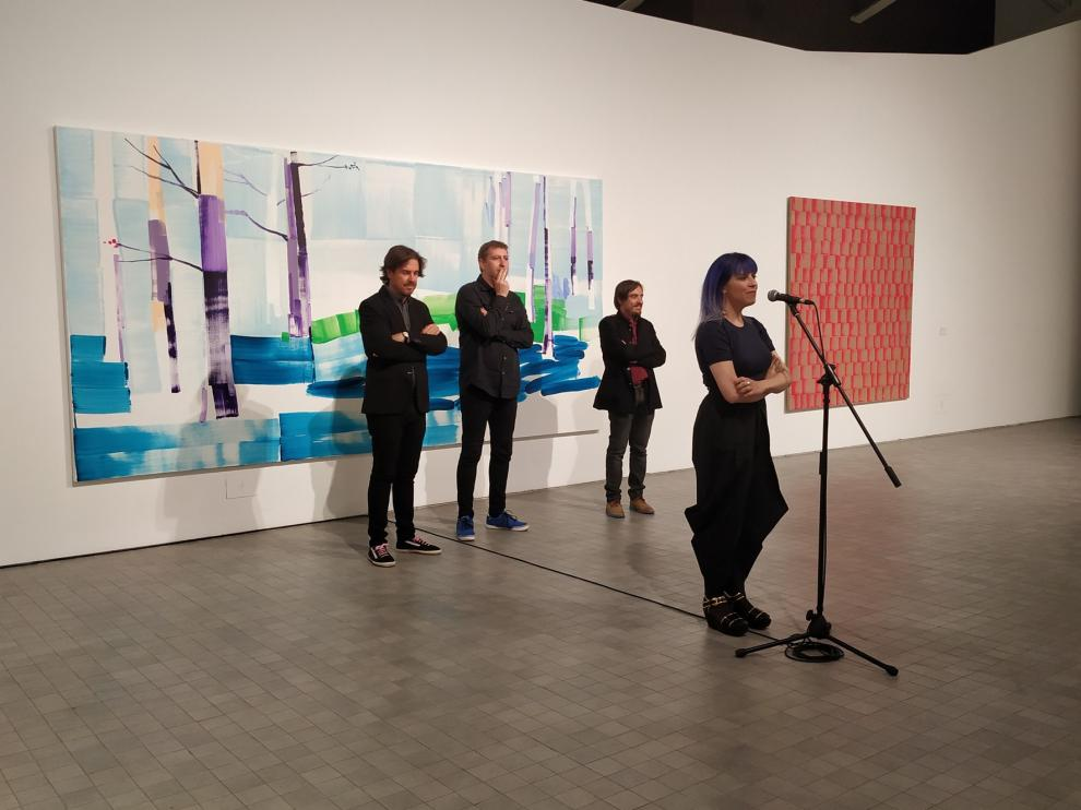 Lorena Domingo, entre la figuración y la abstracción